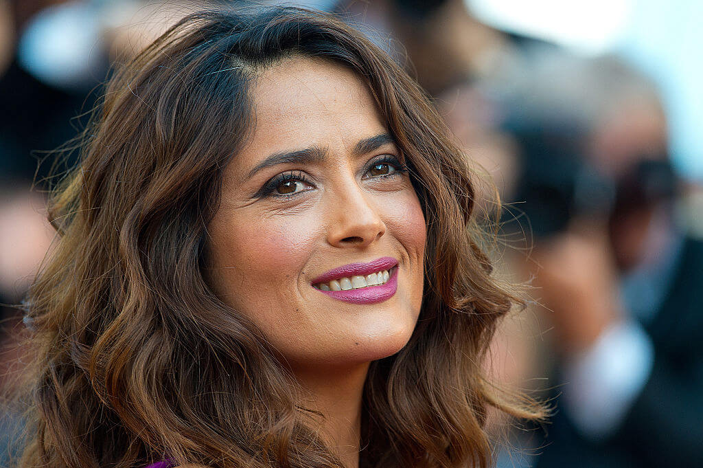 Salma Hayek is Sharing Her Hair Care