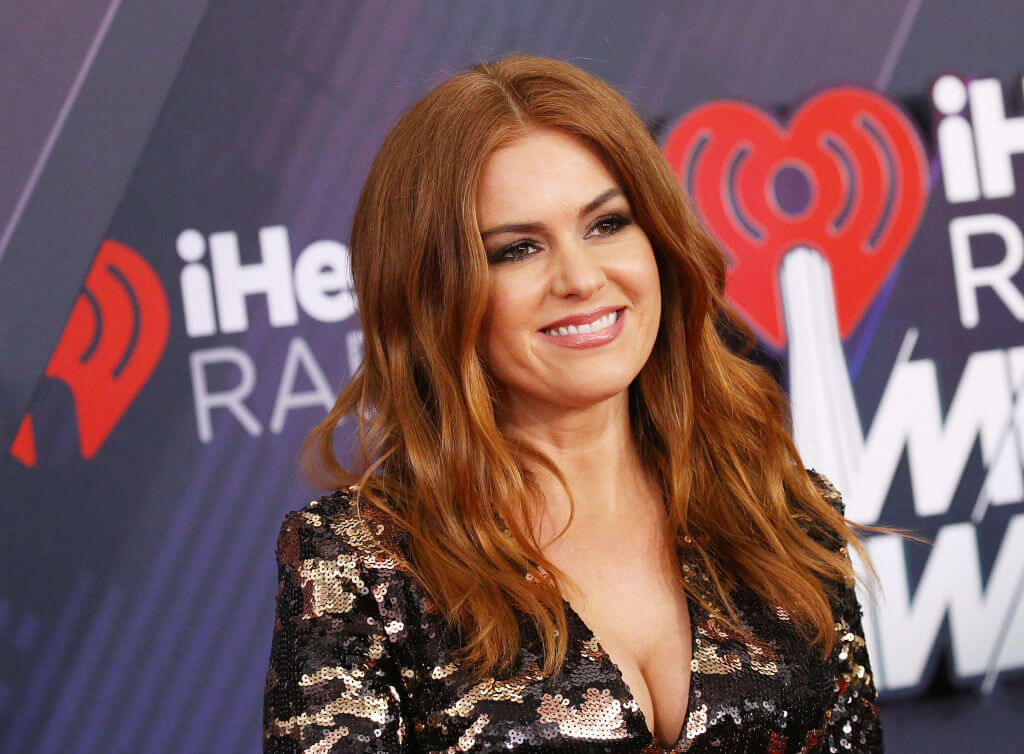 British-Australian Actress Isla Fisher Is Also A Novelist