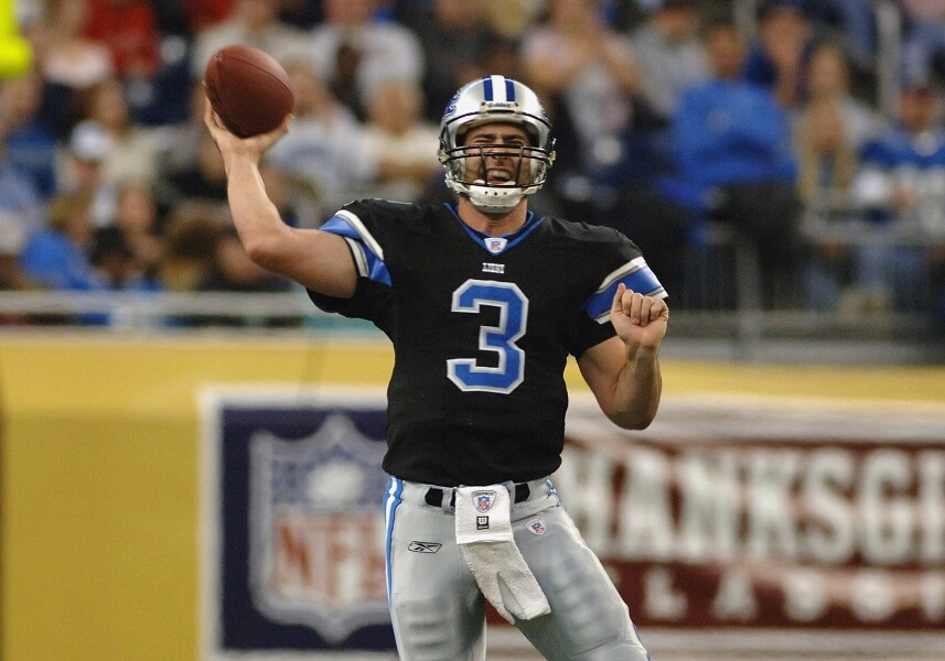 Joey Harrington never panned out in the NFL