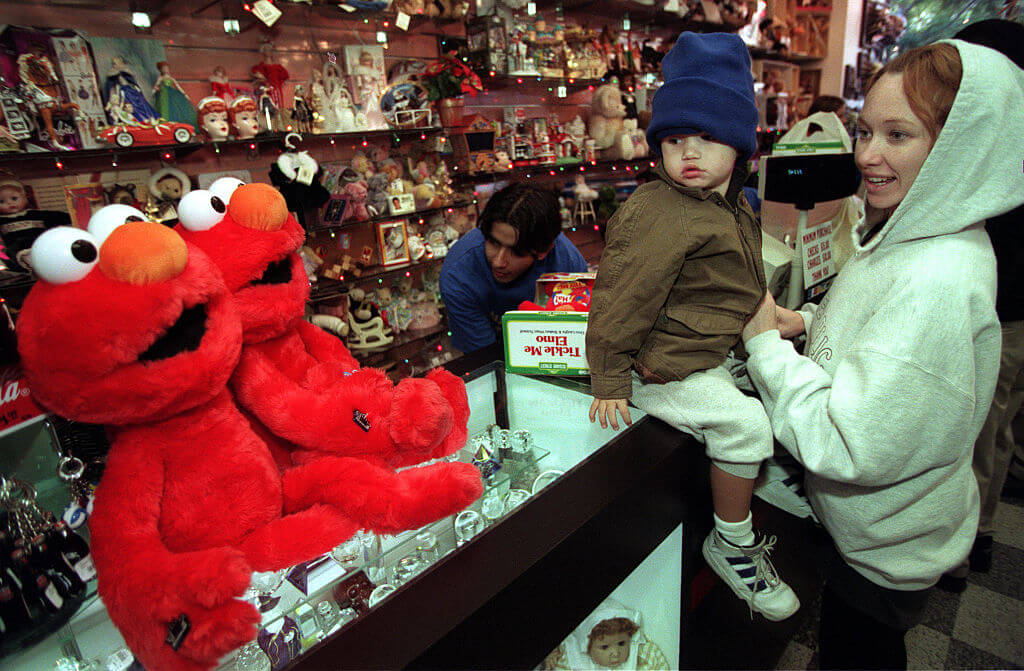 People Were Injured Over Tickle Me Elmos