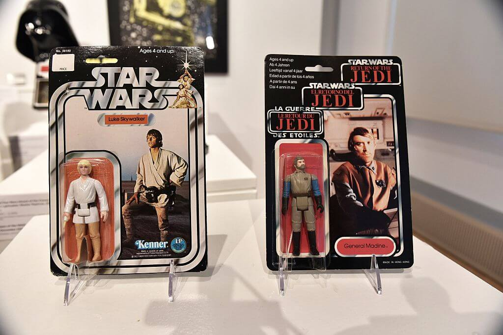 George Lucas Sold Vouchers for Star Wars Action Figures